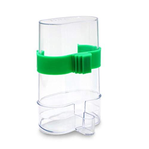 PXPQZAKHFTGRTZAP 220ml Bird Water Food Feeder Parrot Canary Automatic Feeding Drink Dispenser -