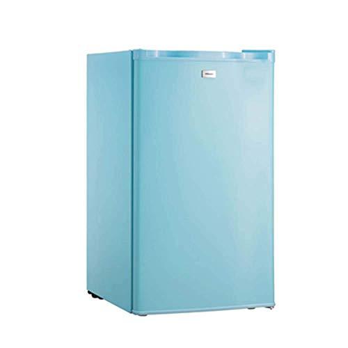 LXDDB Einzeltür Mini Kühlschrank Mit Gefrierschrank Für Schlafzimmer Büro Wohnheim Mit Einstellbarer Entfernen Glasböden Retro 90l Kompaktkühlschrank 7-Gang Temperatureinstellung -