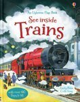 See Inside Trains (Usborne Flap Book) by No (2014-01-01)