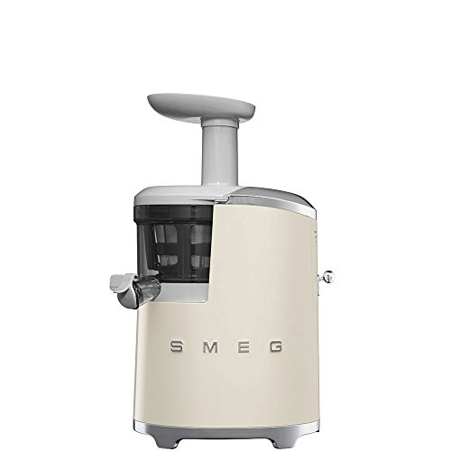 Smeg SJF01CRUK 50's Style Retro Slow Juicer Cream Best Price and Cheapest