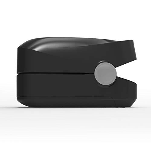 CYL Fingerclip-Oximeter, Fingerpulsoximeter, Pi-Schlafüberwachungs-Herzfrequenz-Detektor, Sie müssen Ihre eigene Batterie kaufen,Black