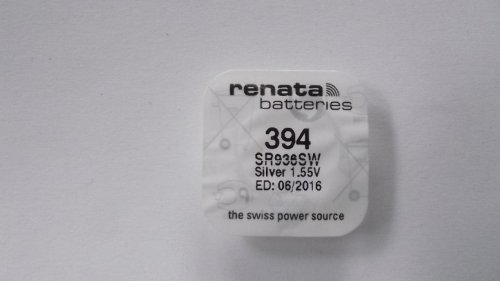 Renata - Knopfzelle Silberoxid 394 RENATA 1.55V 84mAh - Blister(s) x 1