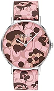 Coach Women's Multicolor Dial Multicolor Calfskin Watch - 1450