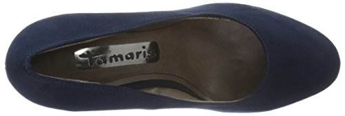 Tamaris Damen 22407 Pumps Blau (Navy 805)