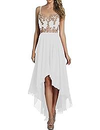 0d694cd1a59b Suchergebnis auf Amazon.de für: weißes kleid kurz - La_Marie Braut ...