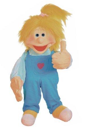 Living Puppets W694 Grosse Handpuppe Amelia 65 cm