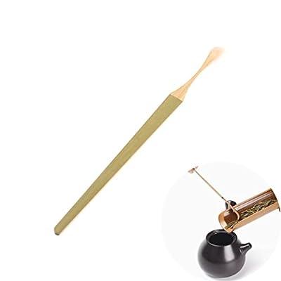 Milopon Thé Matcha Cuillère Bambou Poudre Scoop Teaware Thé Cérémonie Accessoires 18* 1cm