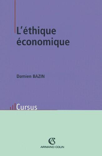 L'éthique économique (Économie)
