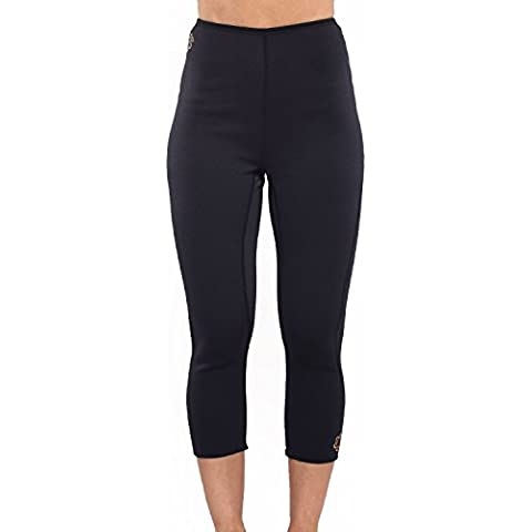 Zaggora-Fascia per esercizi da donna Capri, taglia s, colore: nero