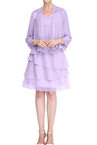 Missdressy -  Vestito  - linea ad a - Donna Lilla