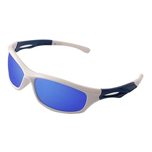 BELECOO Polarisierte Sport-Sonnenbrille, die Bequeme Sonnenbrille Damen Herren Radfahren Baseball-Laufen Fährt