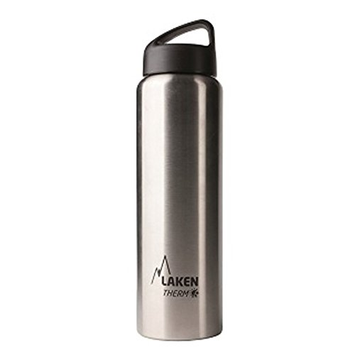 Laken Botella Térmica 1 Litro de Acero Inoxidable 18/8 y Doble Pared...