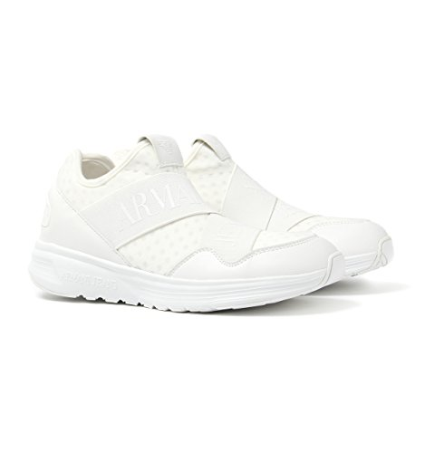 Armani Jeans Herren 9350607p419 Low-Top Bianco