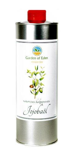 100% pure pressée à froid et huile de jojoba, 250 ml, naturel, certifié ISO 9235 - Maintenant avec bec verseur neuf