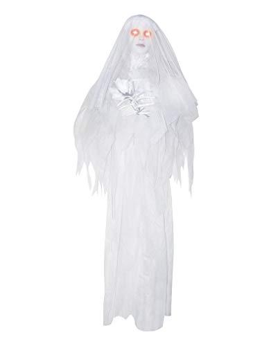 Horror-Shop Hängende Geister-Braut Ghostbride Animatronic Figur für ()