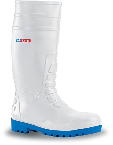 White Safety Wellington Boots Steel Toecap
