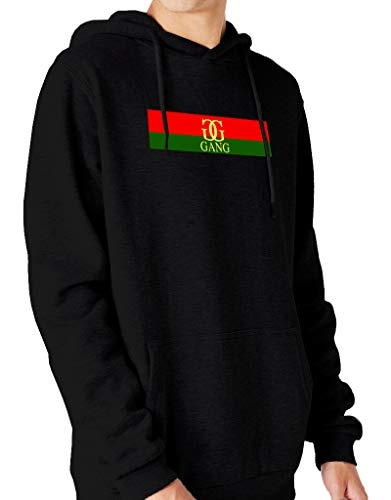 1ba41f4df67c Ulterior Clothing New G Gang Double G Flag Hoodie Lil Pump D Rose Molly