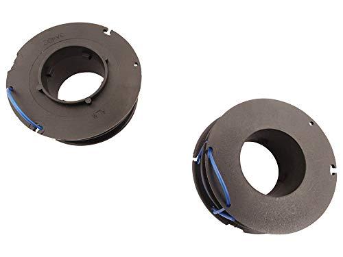 Fadenspule 1,6mm (2er Set) passend Gardena Turbotrimmer 400 Duo Freischneider 1.6 Duo