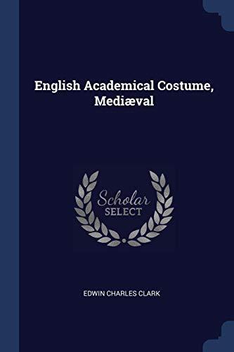 English Academical Costume, - Kostüm Für Theaterstücke