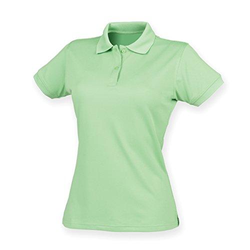 Coolplus® polo féminin Vert citron