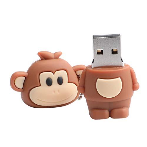 Baoblaze USB-Stick Flash Drive Mini Speicherstick, AFFE Form Design USB 2.0 Schnittstelle, High-Speed Flashlaufwerk USB 2.0-1G (12-gb-usb-laufwerk)