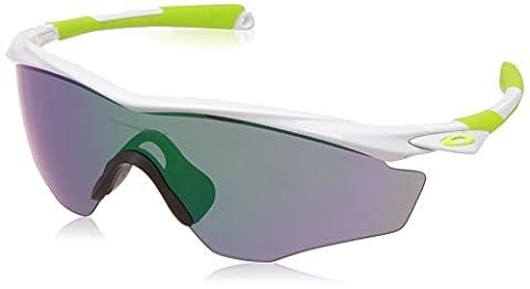 Oakley 9343 SUN, Lunettes de soleil, Homme, Couleur de la lentille Jadeirium (Cadre de lunettes Blanc Brillant), XL