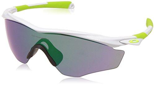 Oakley Herren Sonnenbrille M2 Frame XL Weiß (Polished White), 45