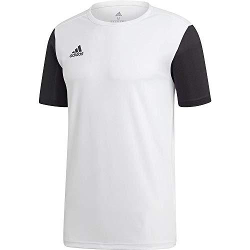 Adidas estro 19, maglietta uomo, white, m