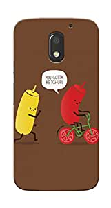 Kaira High Quality Printed Designer Back Case Cover For Motorola Moto E3 Power(412)
