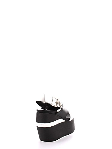 Cult , Damen Sandalen Black/White