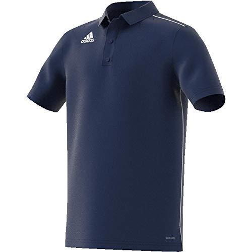 adidas Kinder CORE18 Y Polo Shirt, Dark Blue/White, 13-14 Years -