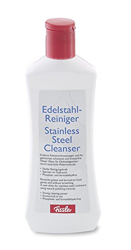 Fissler Edelstahl-Reiniger / Hochwertiges Reinigungsmittel für Edelstahl / 021-002-91-001/0 / 250 ml