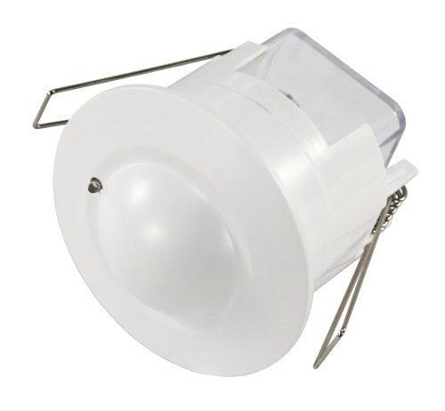Preisvergleich Produktbild Mikrowellen-Bewegungsmelder McShine ''LX-753''. 360°. 230V / 1.200W. weiß. Unterputz. LED geeignet
