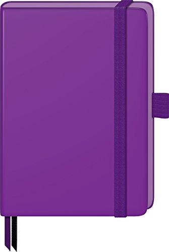 Fontana 105521826–quaderno taccuino (kompagnon, 9.5x 12.8cm, a quadretti, 21, 96fogli) a righe violett