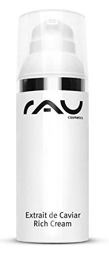 RAU Extrait de Caviar Rich Cream 50 ml - Crema antirughe con estratto di caviale, anti-età, idratazione e rigenerazione.
