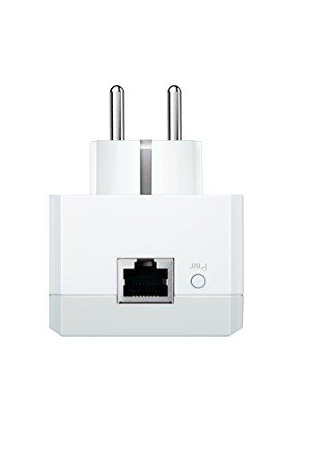 TP-Link TL-PA4015P Enchufe Frances Sin se/ñal WiFi Solo velocidad por l/ínea el/éctrica AV600 Puerto Fast Ethernet