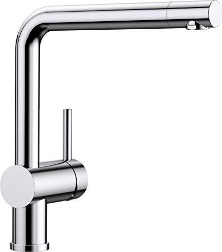 Blanco LINUS Küchenarmatur, metallische Oberfläche, chrom, Hochdruck, 1 Stück, 514019