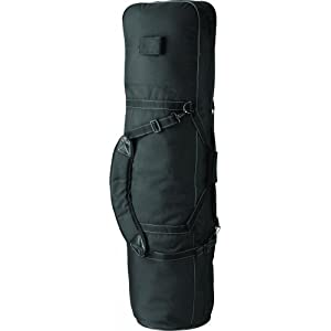 Golfers Club Padded Golf Travel Cover - Black