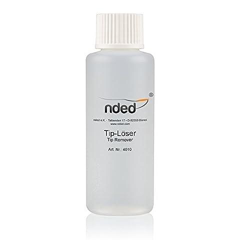 Tips off 100 ml dissolvant capsules et dissout résine acrylique