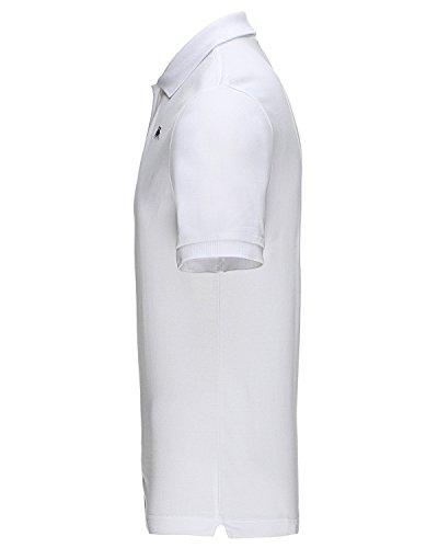 Kappa AARAU Polo-Shirt, Weiss Weiß