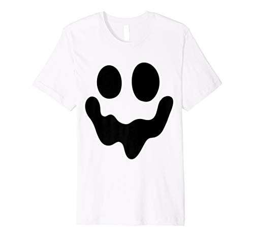 Ghost Spooky Kostüm - SPOOKY Face Ghost T-Shirt-Einfache Halloween-Kostüm