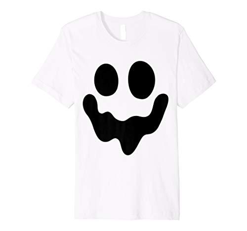SPOOKY Face Ghost T-Shirt-Einfache - Ghost Face Kostüm Kind