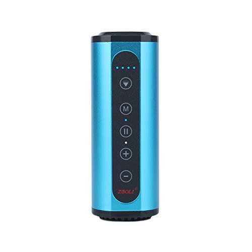 ZYWTZ Bocina Bluetooth Compatible con Todos los Dispositivos Bluetooth 4.0 Puede Ser Utilizado como Una Linterna,Radio,Energía móvil