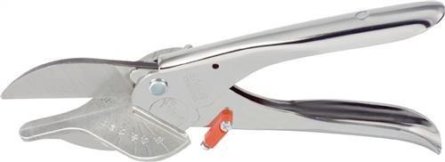 Gebr. schroeder GmbH 3101 Cisaille à onglet Lion coupe 25 mm 2 attaques 45 ° Lion Chromé