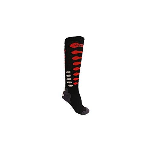 Preisvergleich Produktbild Lenz Compression 3.0 Merino Socken Schwarz/Rot XL