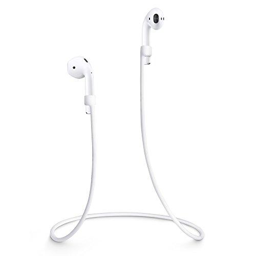 VAPIAO Straps für Ihre Apple Airpods AirPod Straps AirPod Halter AirPod Holder AirPod Halteband Halterung Holder Bügel Schutz Verbinder passend für Ihr iPhone 6, 6s, 6 Plus, 6s Plus, 7, 7 Plus, 8, 8 Plus, X