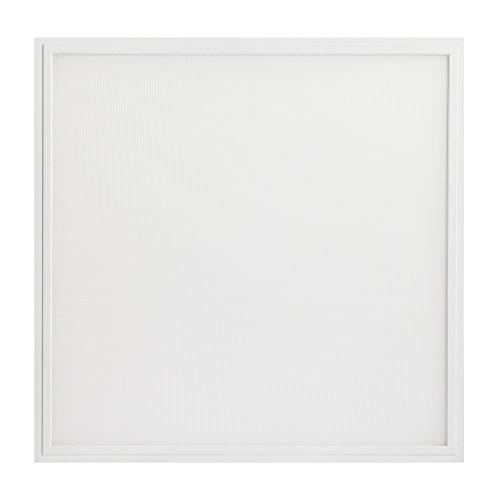 illumitec LED Panel Leuchte blendfrei UGR19, 40W, 4000 Lumen (100 lm/W), 620x620x10mm, 62x62x1cm, Neutralweiß 840 (4000K), UGR<19, Bildschirmarbeitsplatz, Büroleuchte, Rasterleuchte, Rastereinlegeleuchte, Odenwalddecke, Rahmen weiß