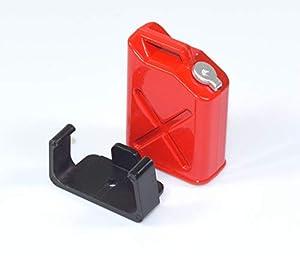 Absima 23200312320031 Bidón de Gasolina Rojo de diseño de Modelo de Coche gestaltung Tool/Tuning Notebook en Escala 1: 10, Multicolor