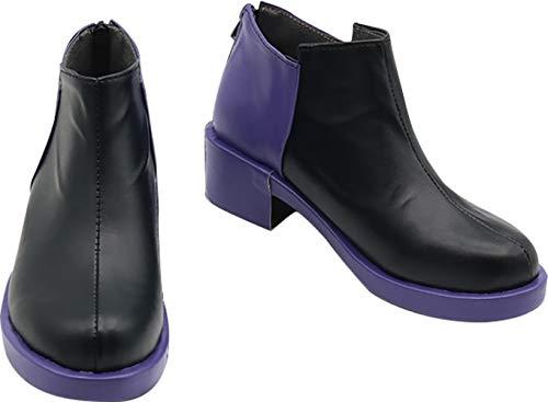 GSFDHDJS Cosplay Stiefel Schuhe for Danganronpa V3 Killing Harmony Kokichi Oma