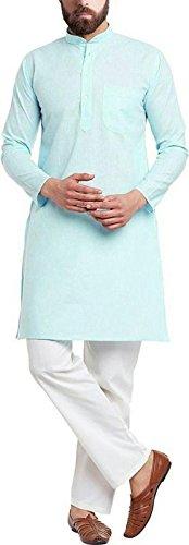 Cafley Mens' Cotton Kurta Pyjama Set